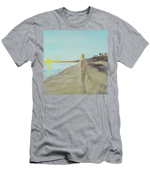 Looking South Tryptic Part 3 Men's T-Shirt (Athletic Fit)