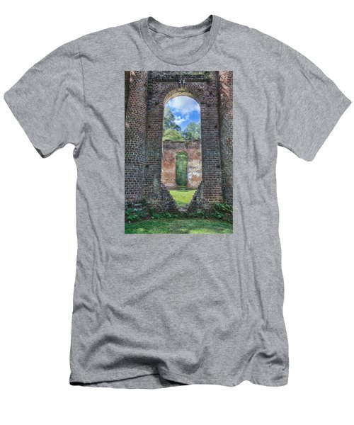 Looking Through The Old Sheldon Church Men's T-Shirt (Athletic Fit)