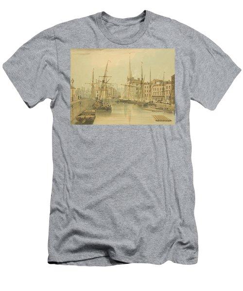 Looking Towards Stone Bridge Men's T-Shirt (Athletic Fit)