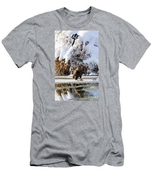 Lookout Above Men's T-Shirt (Slim Fit) by Mike Dawson