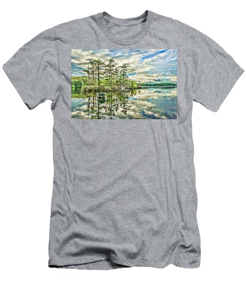Loon Island Men's T-Shirt (Athletic Fit)