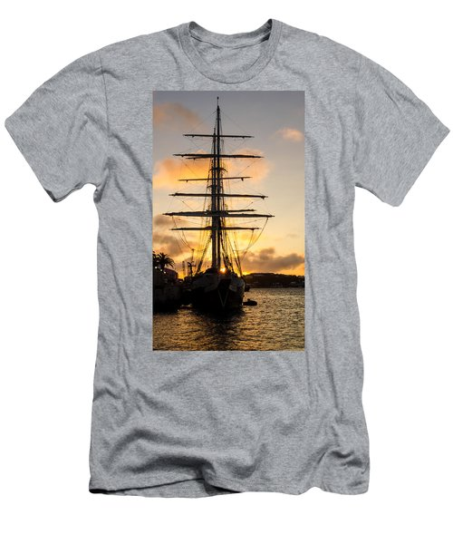 Lord Nelson Sunrise Men's T-Shirt (Slim Fit) by Jeff at JSJ Photography