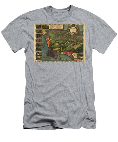 Los Angeles As It Appeared In 1871 Men's T-Shirt (Athletic Fit)
