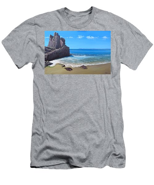 Los Muertos Beach Men's T-Shirt (Slim Fit)