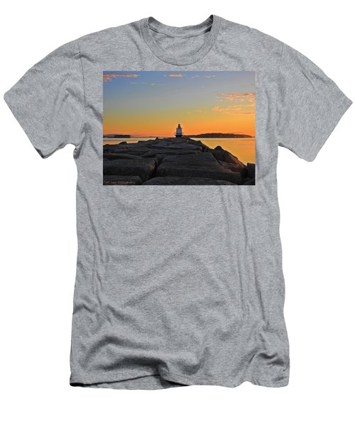 Lost In The Sunrise Men's T-Shirt (Athletic Fit)