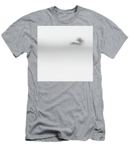 Men's T-Shirt (Slim Fit) featuring the photograph Lost Island Square by Bill Wakeley