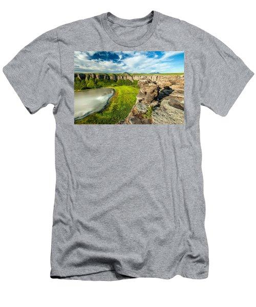 Lost Lake Men's T-Shirt (Athletic Fit)