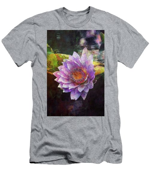 Lost Lavender Lotus Blossom 4725 Ldp_2 Men's T-Shirt (Athletic Fit)