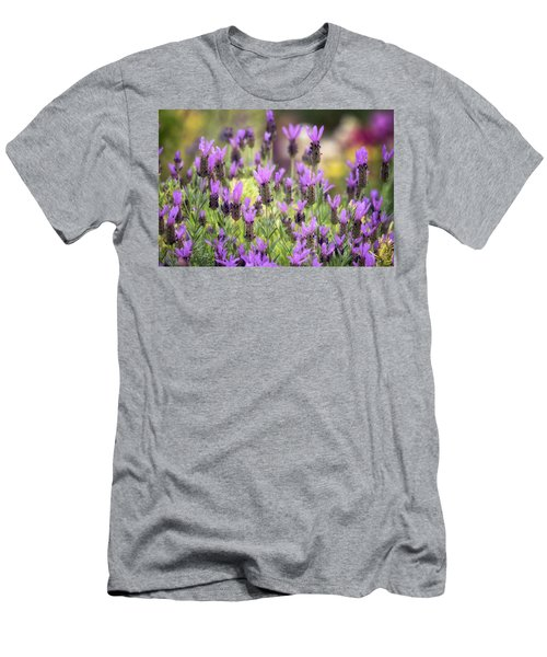 Men's T-Shirt (Slim Fit) featuring the photograph Lots Of Lavender  by Saija Lehtonen