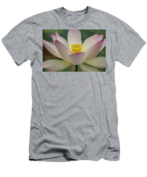 Men's T-Shirt (Athletic Fit) featuring the photograph Lotus Beauty by Julie Andel