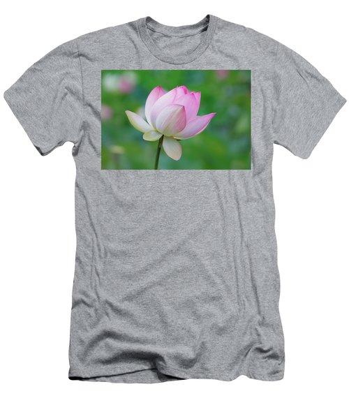 Lotus Bloom Men's T-Shirt (Athletic Fit)