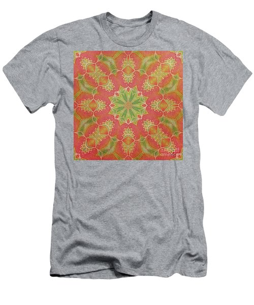 Lotus Garden Men's T-Shirt (Slim Fit) by Mo T