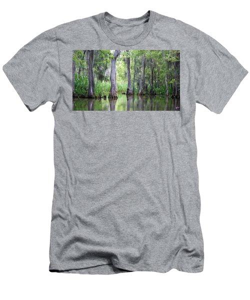 Louisiana Swamp 5 Men's T-Shirt (Athletic Fit)