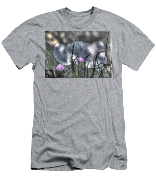 Men's T-Shirt (Athletic Fit) featuring the photograph Love And Death by Wayne King