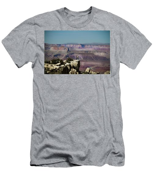Love At The Grand Canyon Men's T-Shirt (Athletic Fit)