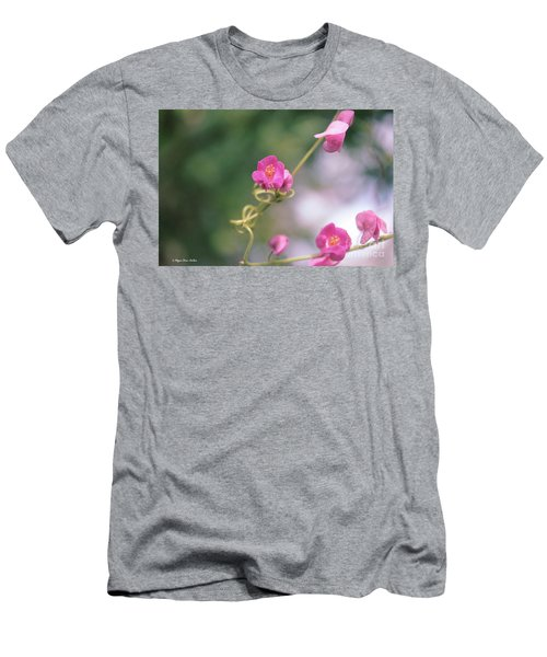 Men's T-Shirt (Athletic Fit) featuring the photograph Love Chain by Megan Dirsa-DuBois
