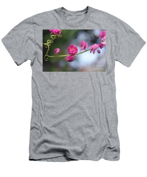 Men's T-Shirt (Athletic Fit) featuring the photograph Love Chain3 by Megan Dirsa-DuBois