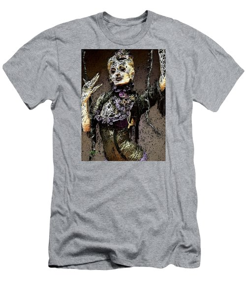 Men's T-Shirt (Athletic Fit) featuring the mixed media Lovely Agony by Al Matra