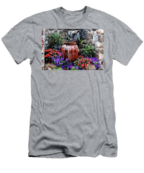 Men's T-Shirt (Athletic Fit) featuring the photograph Lovely Garden  by Trina Ansel
