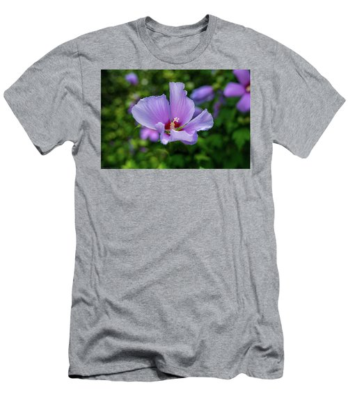 Lovely Hibiscus Men's T-Shirt (Athletic Fit)