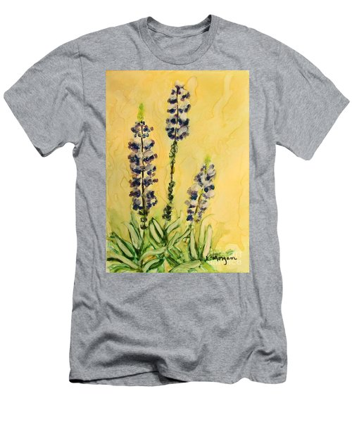 Lovely Lupines Men's T-Shirt (Athletic Fit)