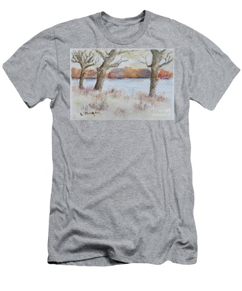 Lovers' Lake Men's T-Shirt (Athletic Fit)