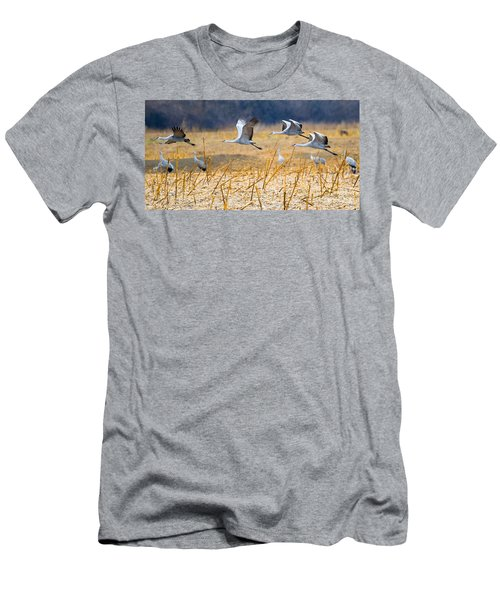 Low Level Flyby Men's T-Shirt (Athletic Fit)
