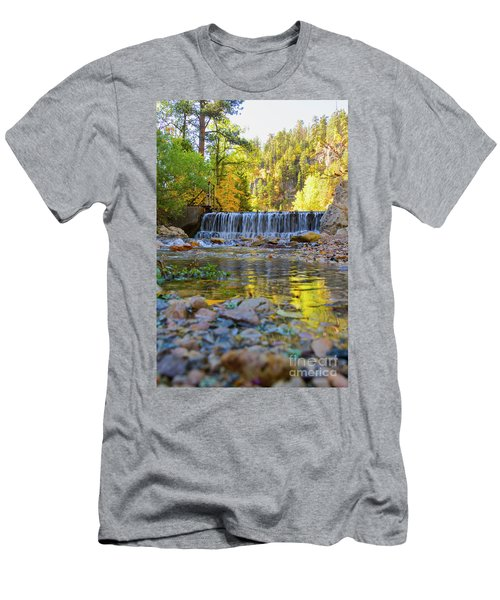 Low Look At The Falls Men's T-Shirt (Athletic Fit)