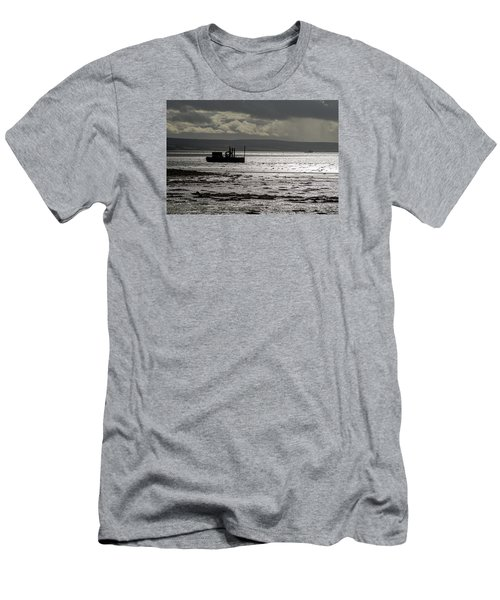 Men's T-Shirt (Slim Fit) featuring the photograph Low Tide In Isle Of Skye by Dubi Roman