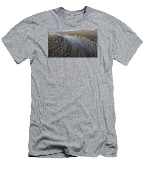 Low Tide Morning Men's T-Shirt (Slim Fit) by Elizabeth Eldridge