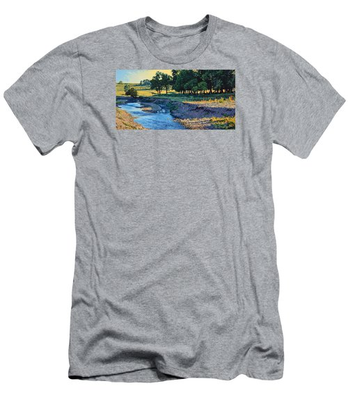 Low Water Morning Men's T-Shirt (Slim Fit) by Bruce Morrison