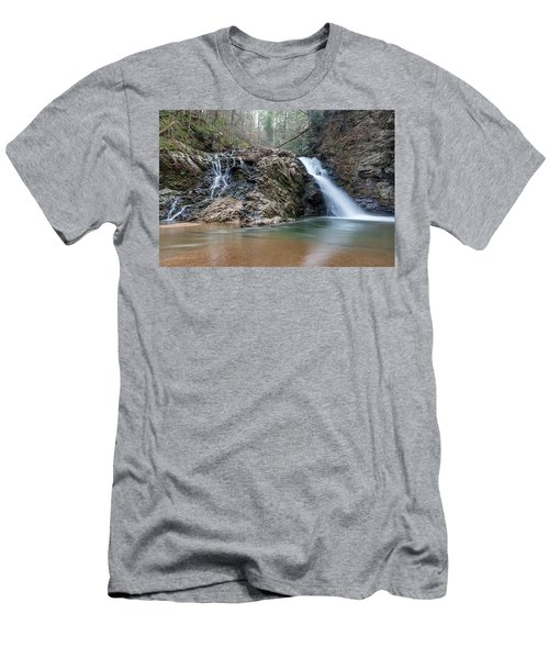 Lower Brasstown Falls Men's T-Shirt (Athletic Fit)