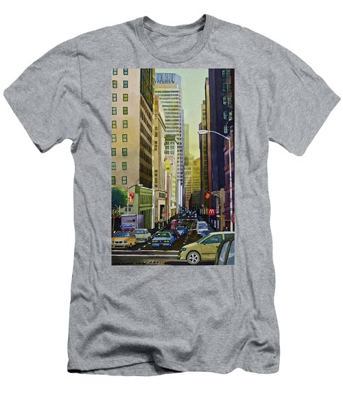 Lower Pine Street Men's T-Shirt (Athletic Fit)