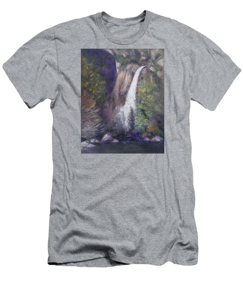 Lower Yosemite Falls Men's T-Shirt (Athletic Fit)