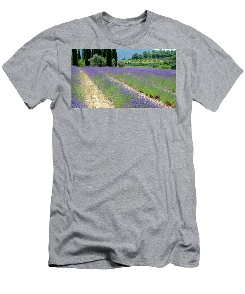 Men's T-Shirt (Athletic Fit) featuring the photograph Lucid Lavender by August Timmermans