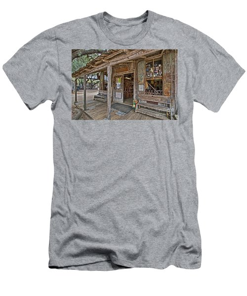Luckenbach Post Office And General Store_4 Men's T-Shirt (Athletic Fit)