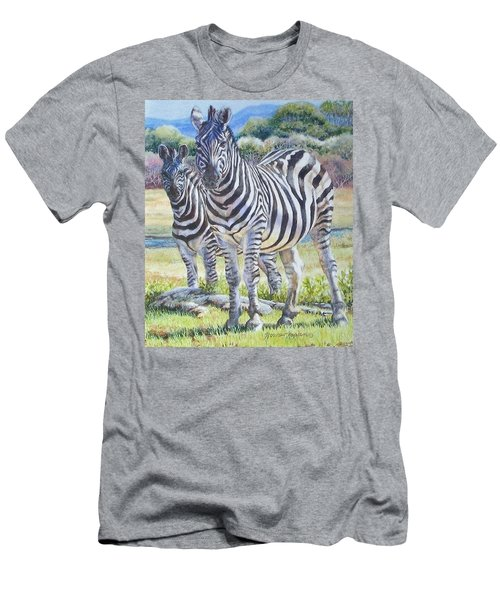 Lucky Stripes Men's T-Shirt (Athletic Fit)