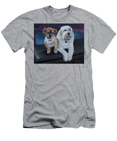 Lucy And Colby Men's T-Shirt (Athletic Fit)