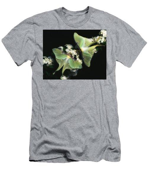 Luna Moths Men's T-Shirt (Athletic Fit)