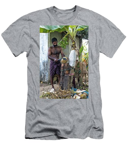 Lunch Men's T-Shirt (Slim Fit) by Marion Galt