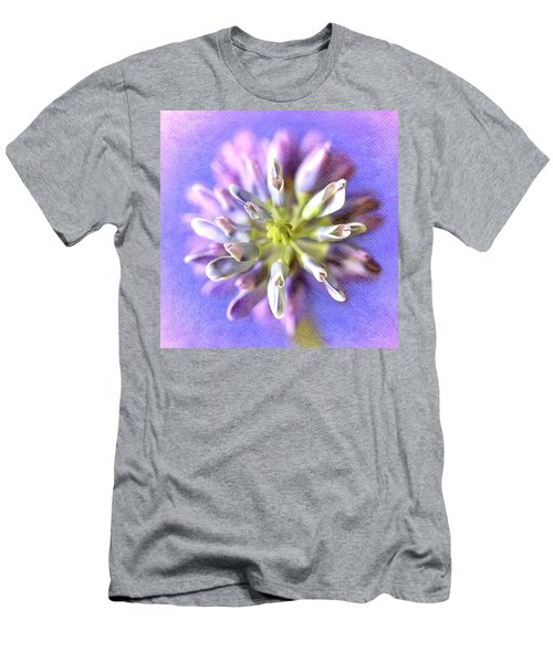 Lupine Hearts Unfurled Shabby Chic Men's T-Shirt (Athletic Fit)