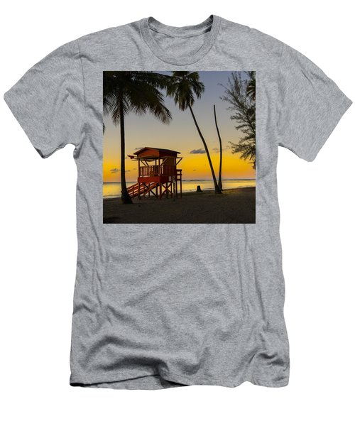 Luquillo Sunset  Men's T-Shirt (Athletic Fit)