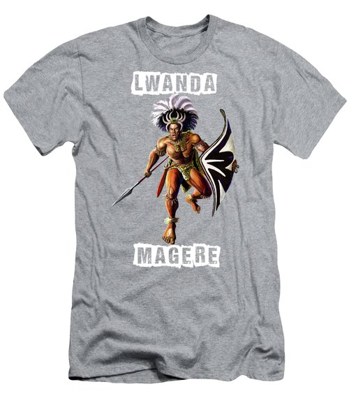 Luanda Magere Men's T-Shirt (Slim Fit) by Anthony Mwangi