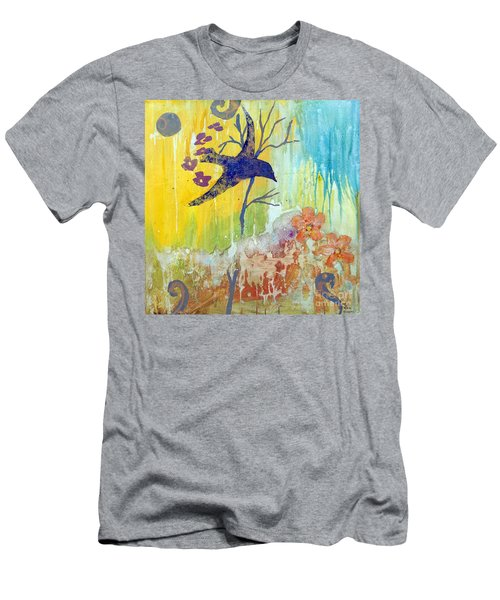 Ma Doh Bird Soars Men's T-Shirt (Athletic Fit)