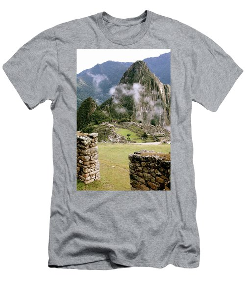 Machu Picchu In The Morning Light Men's T-Shirt (Athletic Fit)