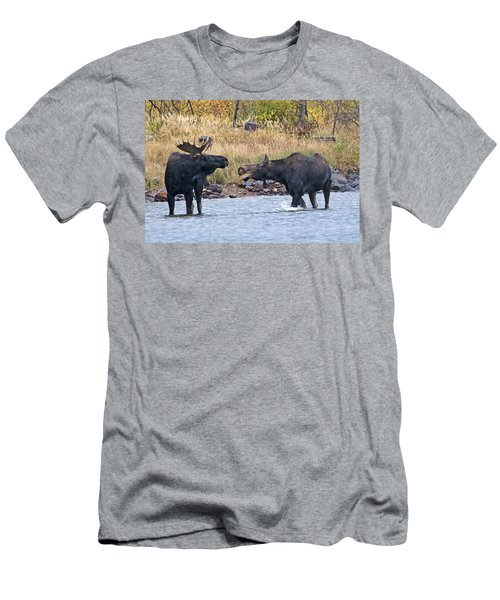 Mad Mamma Moose Men's T-Shirt (Athletic Fit)