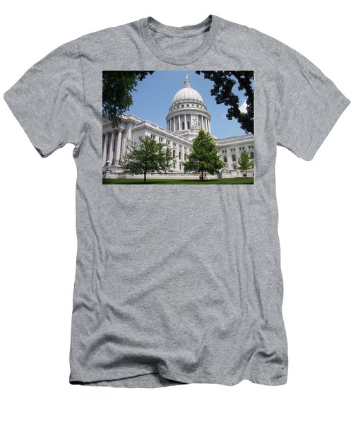 Madison Wi State Capitol Men's T-Shirt (Athletic Fit)