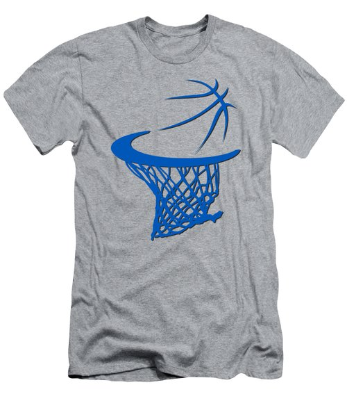 Magic Basketball Hoop Men's T-Shirt (Slim Fit) by Joe Hamilton