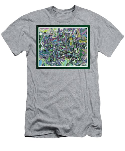 Magic Kaleidoscope-2 Men's T-Shirt (Athletic Fit)