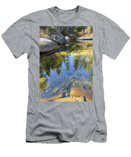 Magic Light On Big Silver Men's T-Shirt (Athletic Fit)